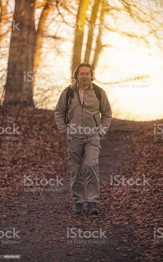 hiker royalty-free stock photo