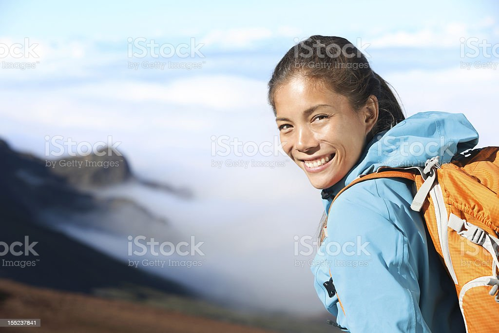 Hiker portrait royalty-free stock photo