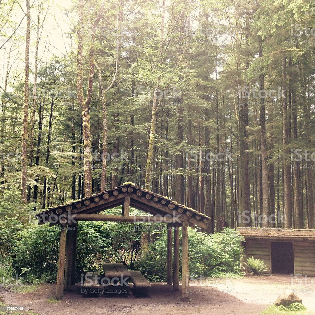Hikers Camp - Royalty-free 2015 Stock Photo