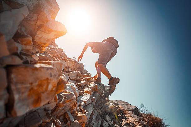 Hikers - foto de stock