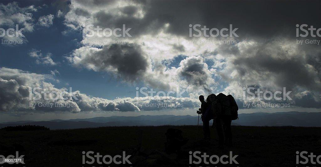 Hikers'krojów zbiór zdjęć royalty-free