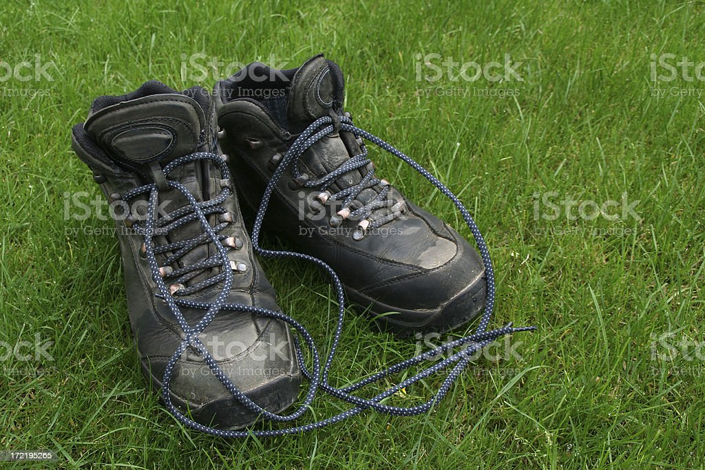 Hiking boots # 1 royalty-free stock photo
