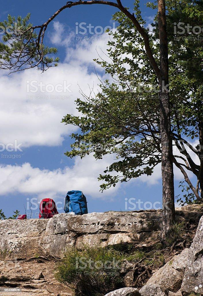 De caminhadas pausa - Foto de stock de Acessório royalty-free