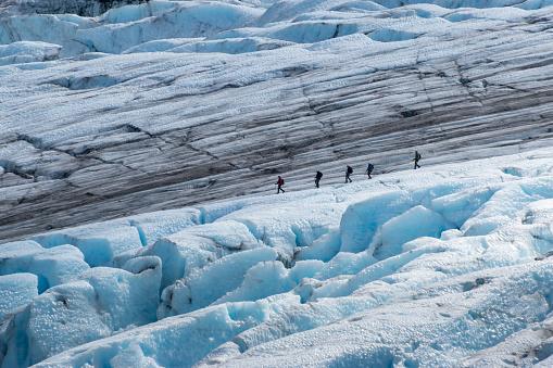 istock Hiking Exit Glacier 1039015368