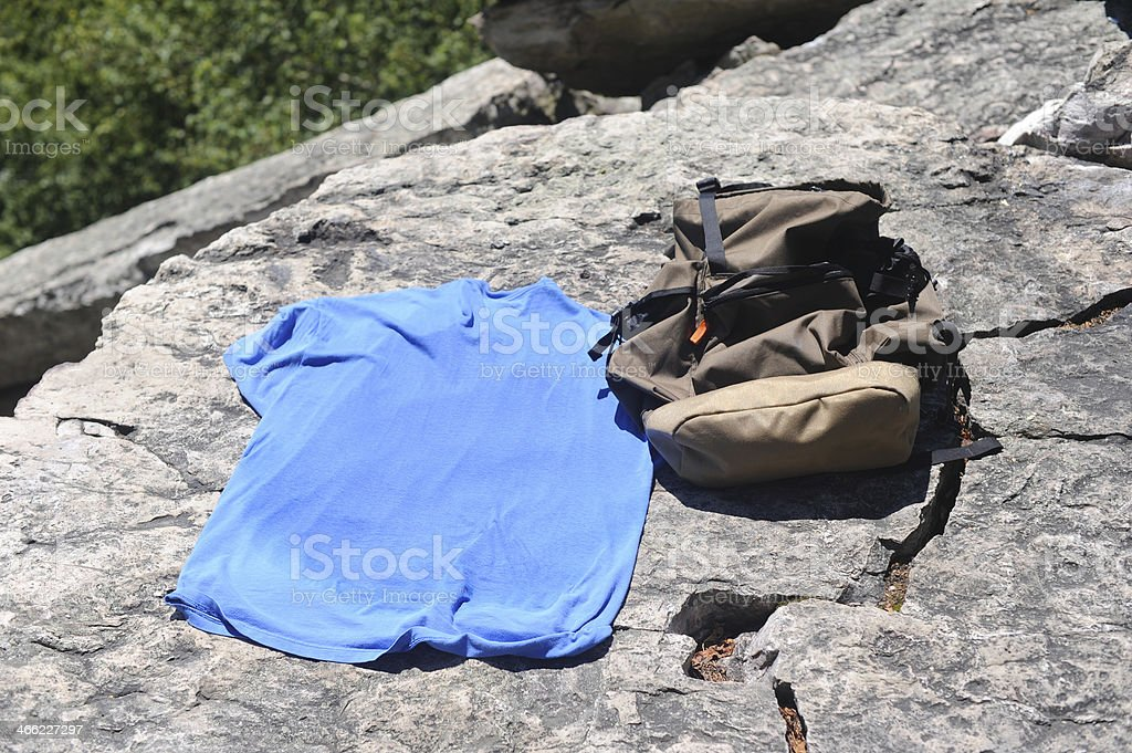 Hiking Gear royalty-free stock photo