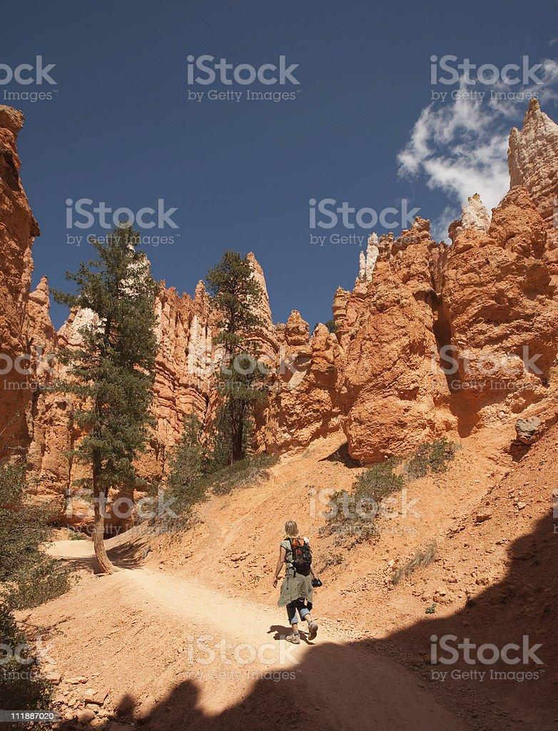 Wandern im Bryce Canyon – Foto