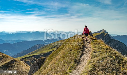 istock Hiking in the Allgaeu Alps 1141196125