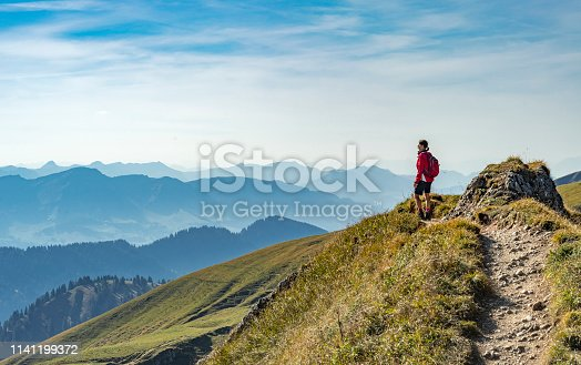 istock Hiking in the Allgaeu Alps 1141199372