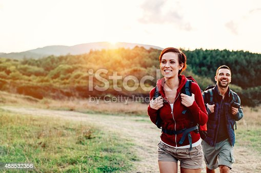istock Hiking in the mountain 488532356
