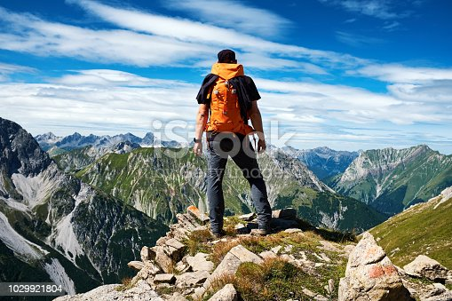 istock Hiking in the mountains 1029921804