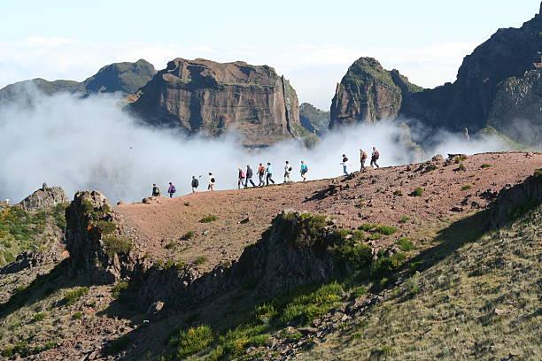 Wandern in den Wolken! Pico Ruivo-madeira – Foto