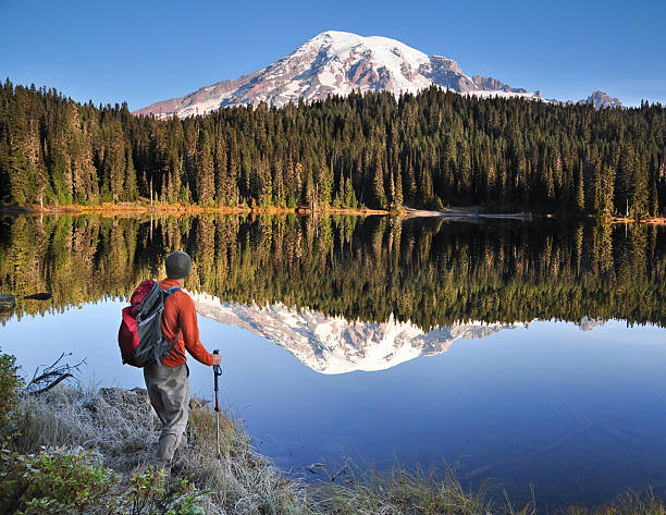 Wandern Mt. Rainier – Foto