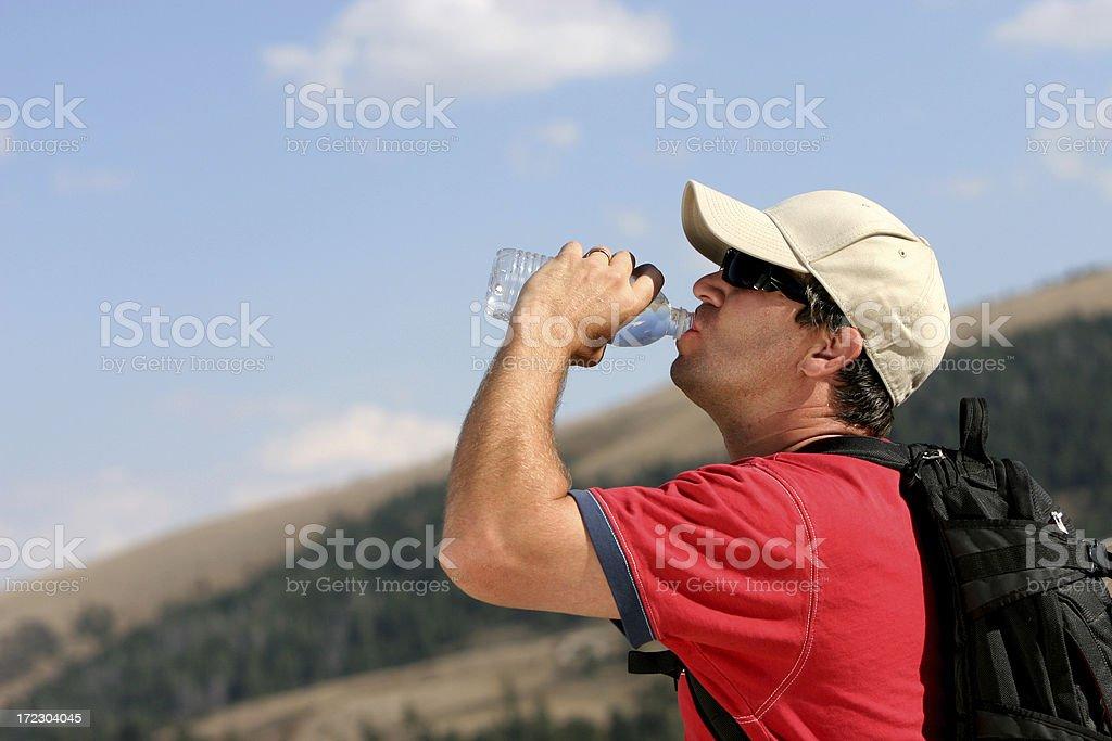 Hiking - Series royalty-free stock photo