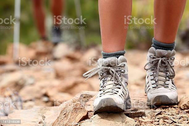 Wandernschuhe Stockfoto und mehr Bilder von Abenteuer