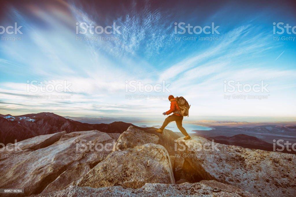 Wandern Sie zum Gipfel – Foto