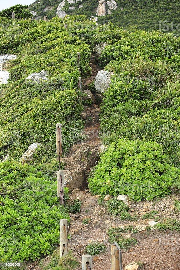 Sendero de excursionismo foto de stock libre de derechos
