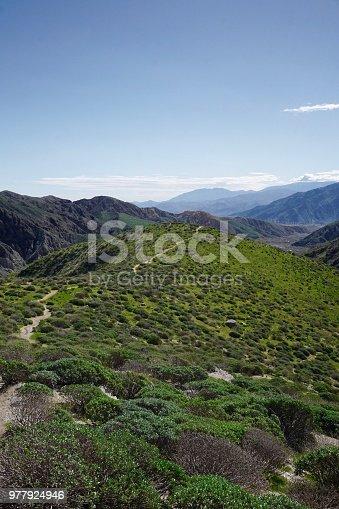Hiking in Whitewater, California