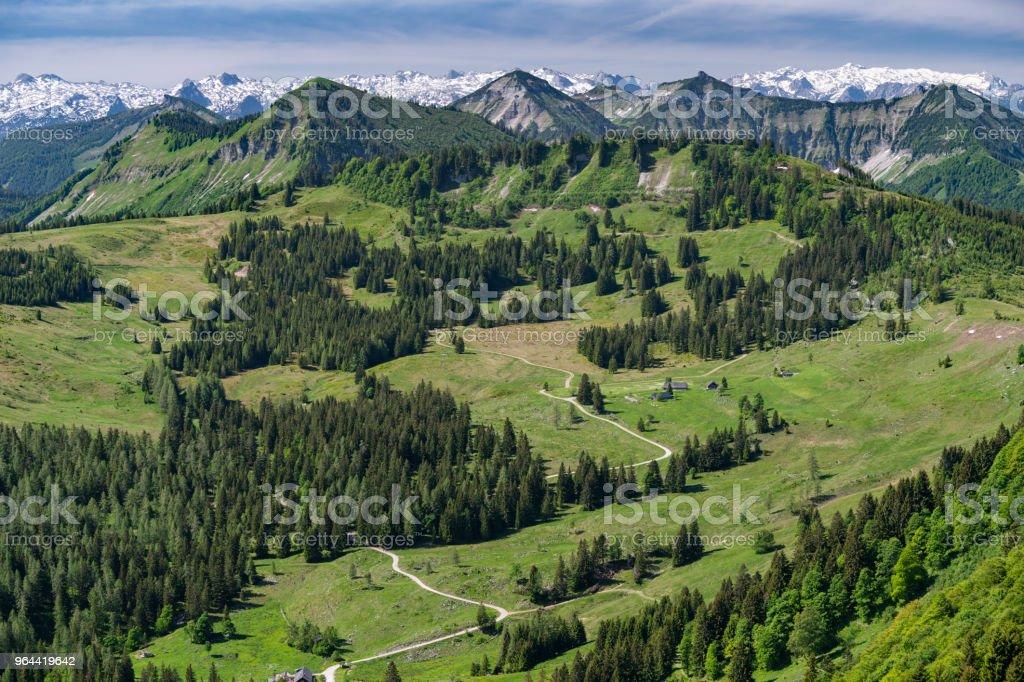 Hiking Trail, Zwölferhorn, Sankt Gilgen, Austria - Royalty-free Architecture Stock Photo