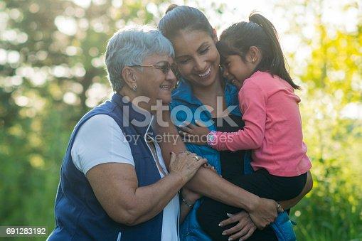 istock Hiking with Mom and Grandma 691283192