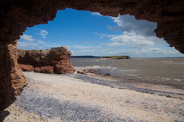 Hilbre Island Of Adventure stock photo