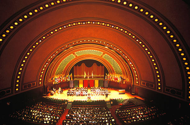 Hill Auditorium /Concert Hall, University of Michigan  ann arbor stock pictures, royalty-free photos & images