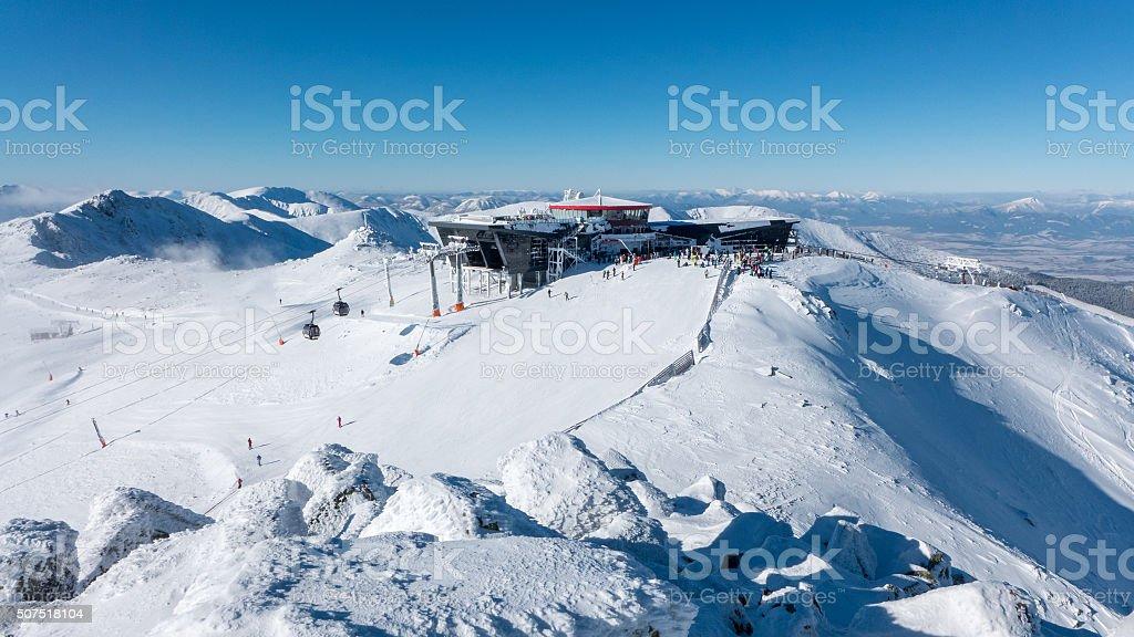 Hill Chopok in Low Tatras, Slovakia stock photo