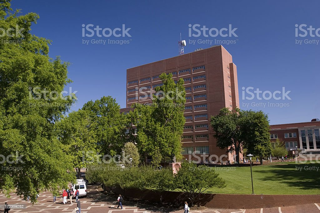 DH Hill Library royalty-free stock photo