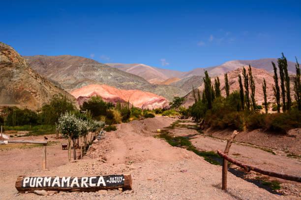 Berg der sieben Farben in Purmamarca – Foto
