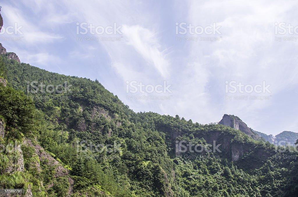 Hill royalty-free stock photo