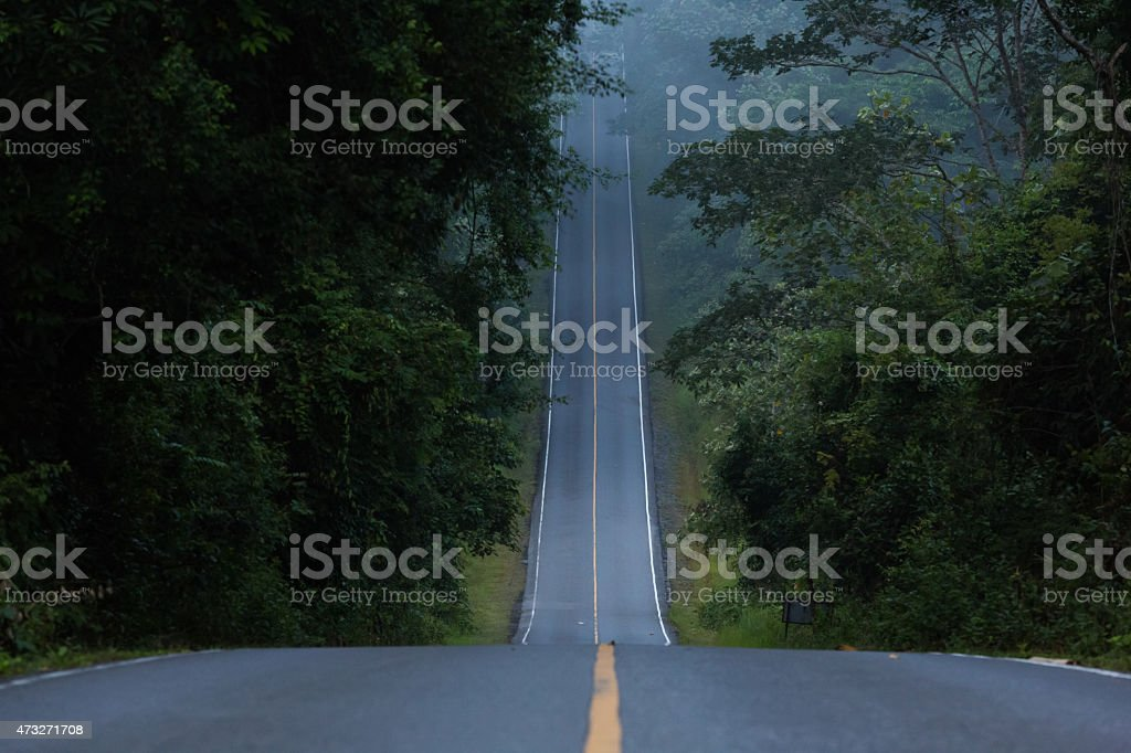 hill road stock photo