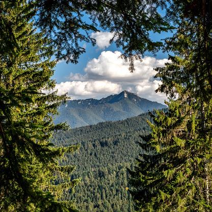 Hill Sina in Low Tatras mountains, Slovakia