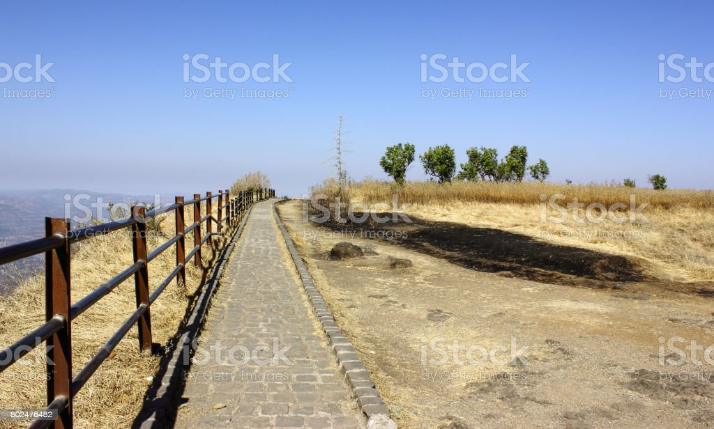 Hill Station Pathway stock photo