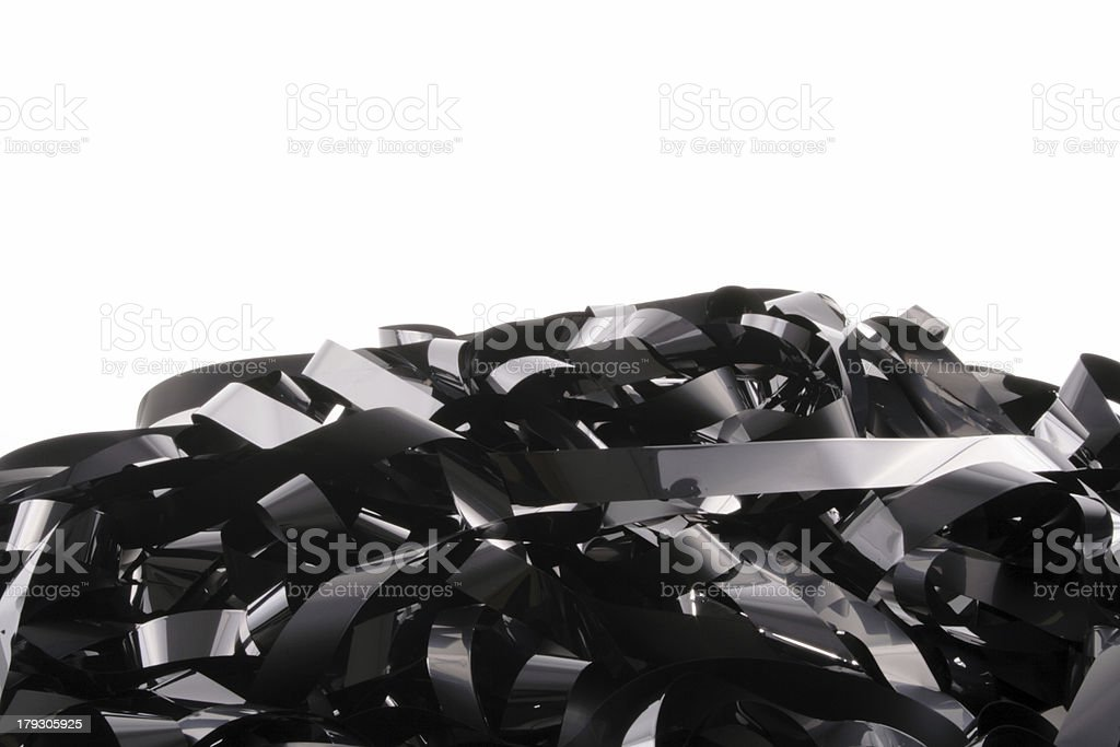 Hill tape royalty-free stock photo