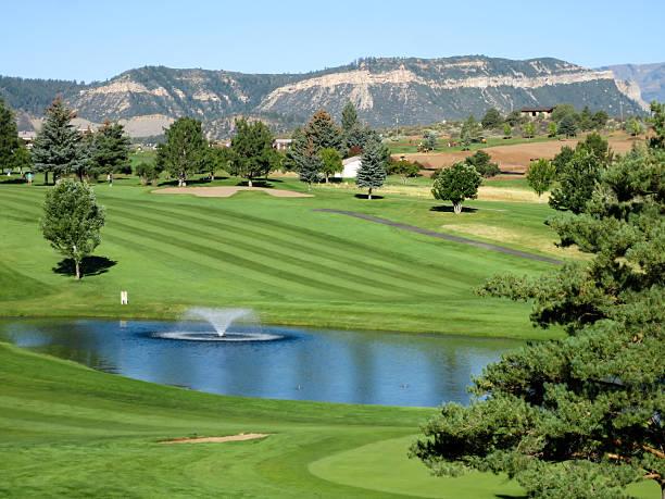 Hillcrest golf course in Durango, Colorado, back nine