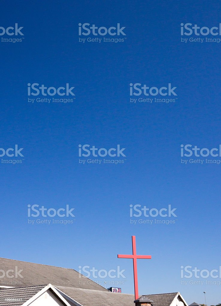 Hillcrest Presbyterian Family Church in Durban, South Africa royalty-free stock photo