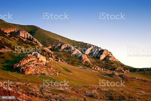 Hills Beside in Wasatch Mountains