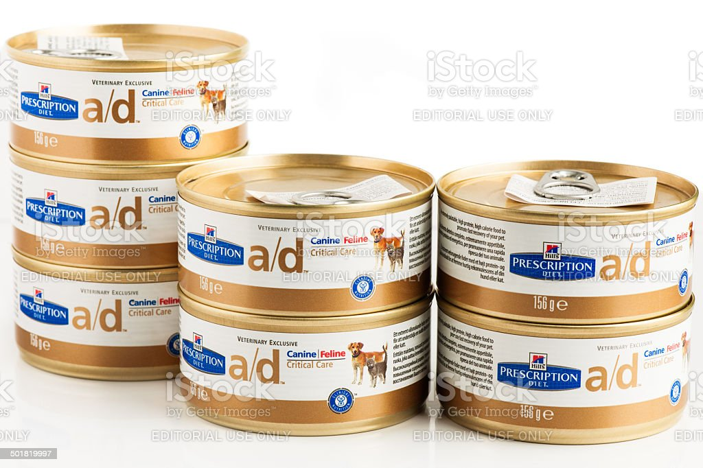 Hills Crictical Care Pet Food royalty-free stock photo