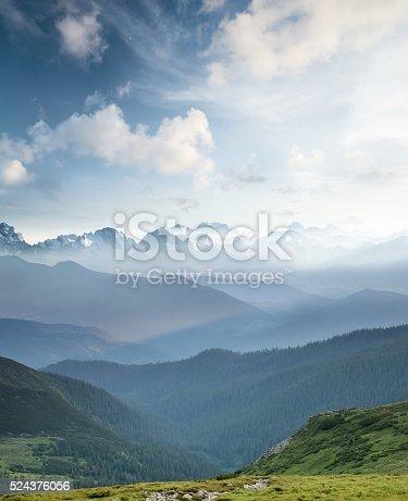 istock Hills during sunrise 524376056