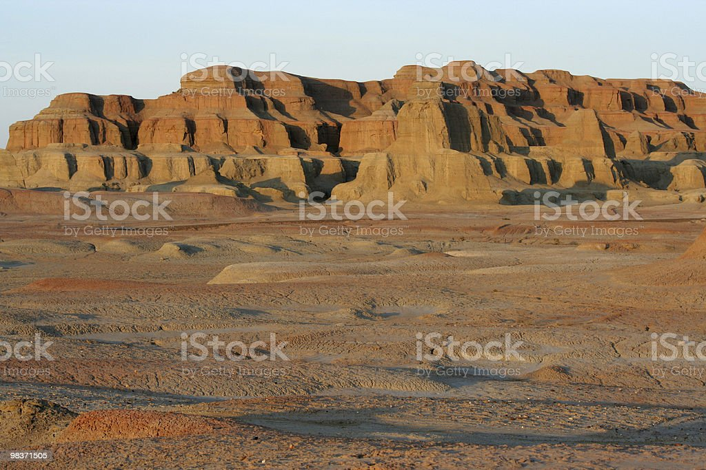hills in desert royalty-free stock photo