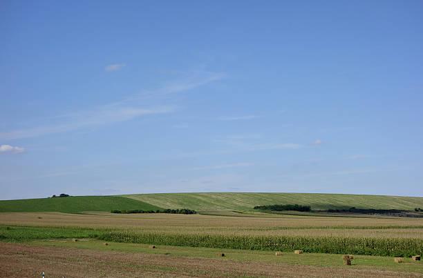 Hügel in Serbien stock photo