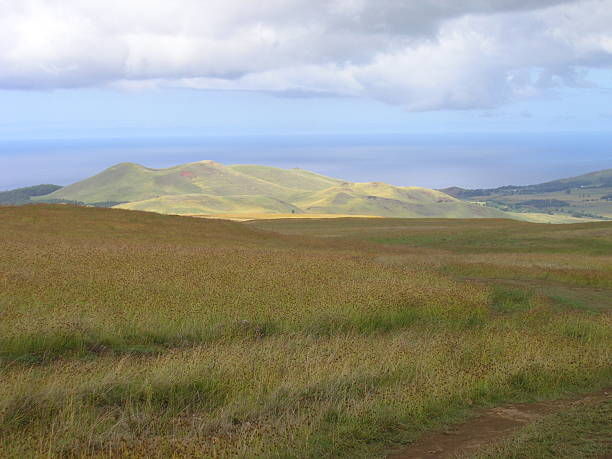 Hills of Easter Island