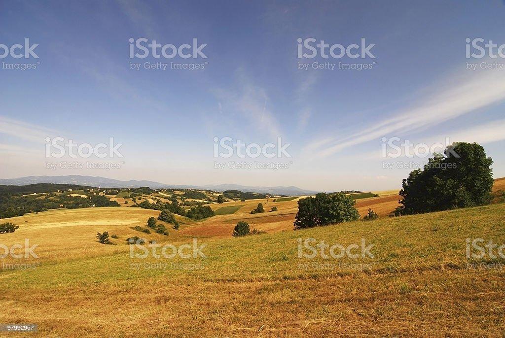 hills royalty-free stock photo