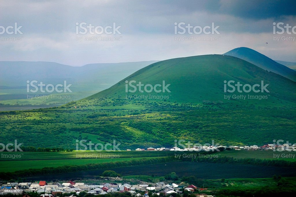 Hills royalty-free stock photo