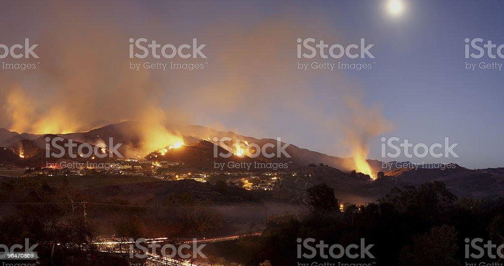 Hillside Fire foto