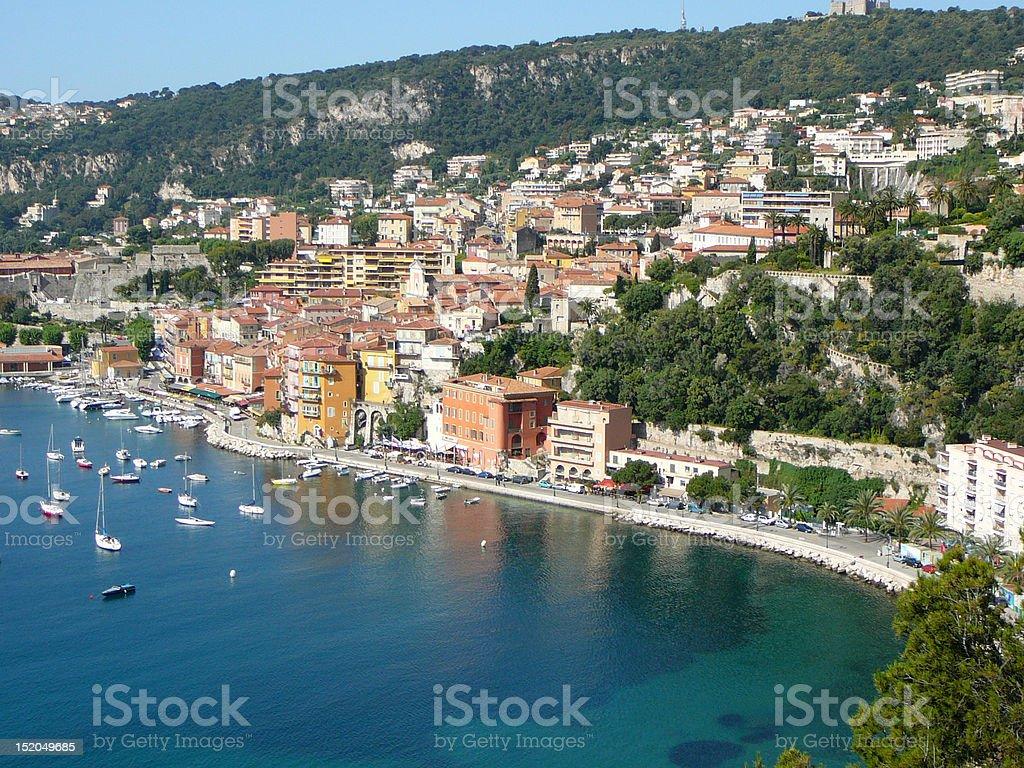 Hillside of Nice France royalty-free stock photo