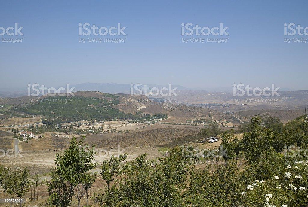 Hillside royalty-free stock photo