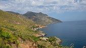 Hillsides Reach the Tyrrhenian Sea
