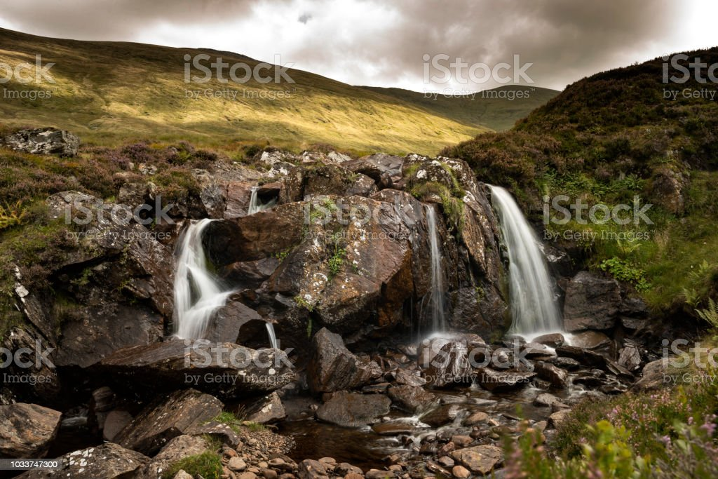 Hillwalking in Scotland - Meall Corranaich 5 stock photo
