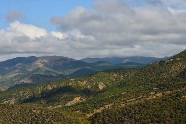 Cтоковое фото Hilly landscape