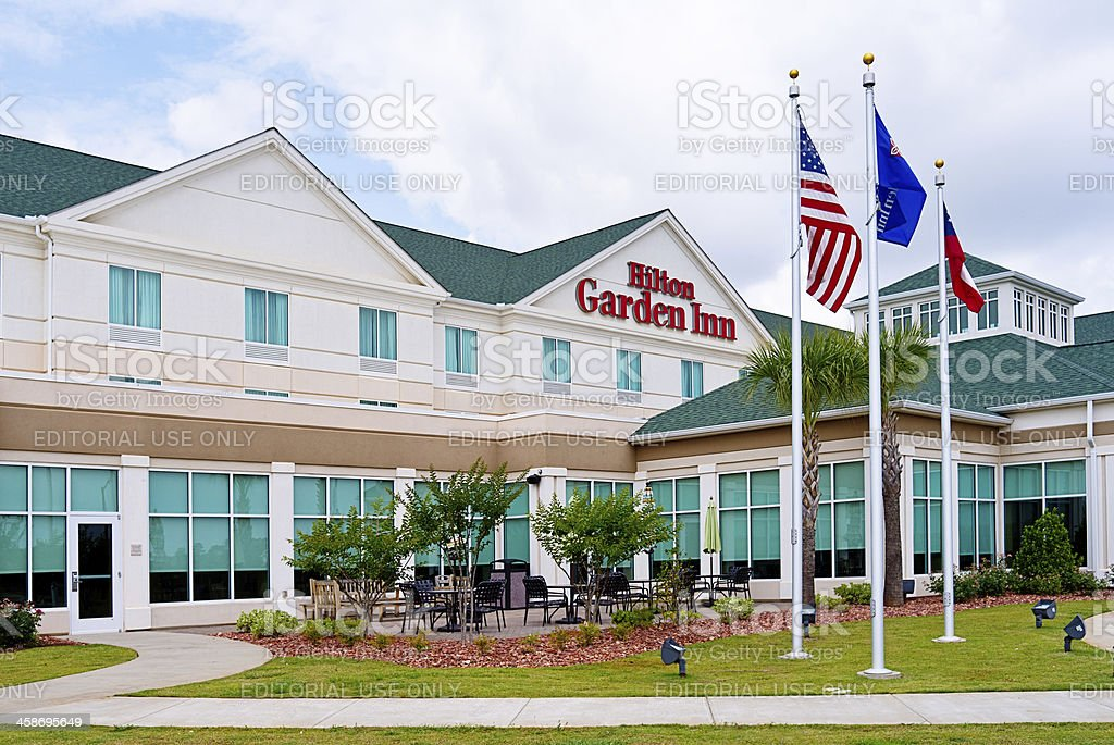 Hilton Graden Inn Hotel stock photo